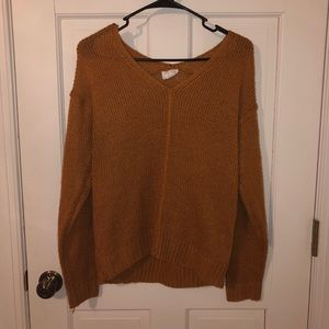 Gold/ Brown sweater